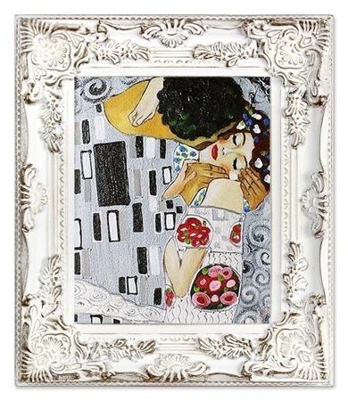 """Gustav Klimt """"Pocałunek""""- płótno, olej + rama 30x35cm G17287"""